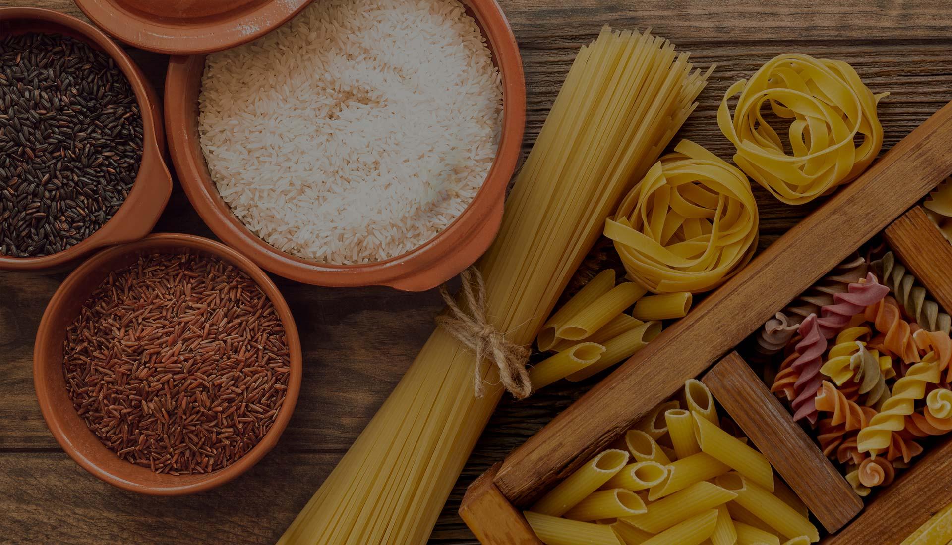 Βιολογικά ζυμαρικά και ρύζια